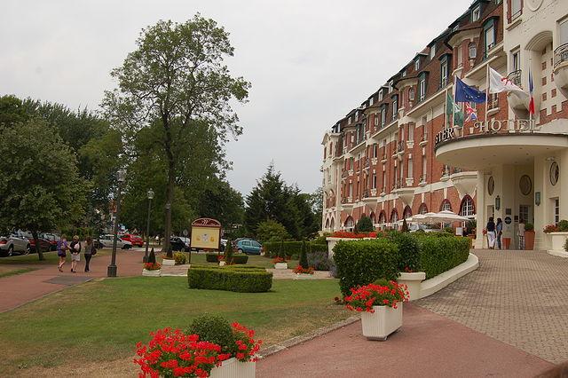 L'hotel westminster au Touquet