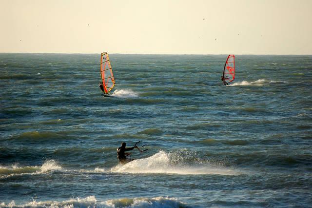 planche et kite à wimereux